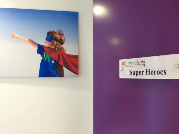 "Picture Gallery – ""Super Heroes"" Class Room"
