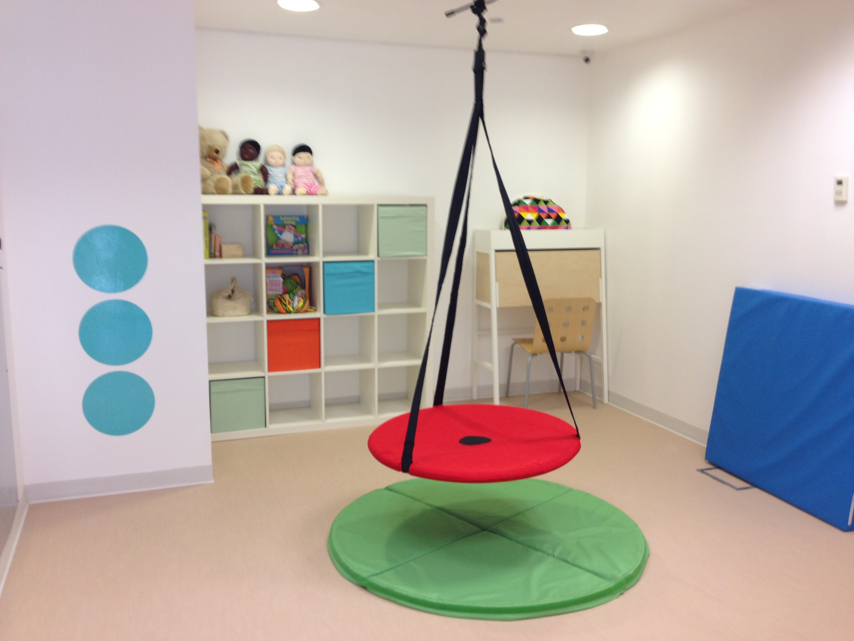 Busy Bodies Occupational Therapy Room Sensation Station